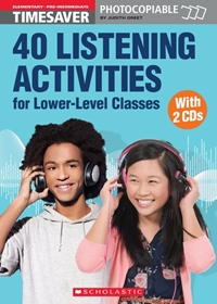 English Timesavers: 40 Listening Activities for Lower-Level Classes (książka + 2 płyty Audio CD)