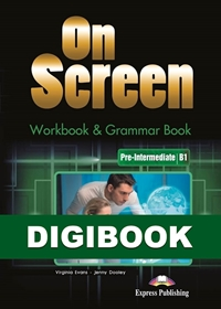 On Screen Pre-Inter. (B1). Workbook & Grammar DigiBook (kod)