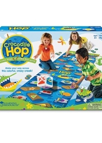 Crocodile Hop: A colour, shape & number floor game