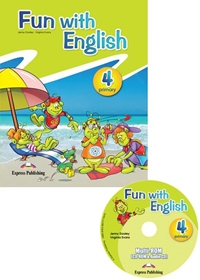 Fun with English 4. Pupil's Pack (Pupil's Book + Multi-ROM)