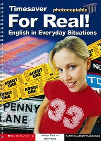 English Timesavers: For Real! English in Everyday Situations (książka + Audio CD)