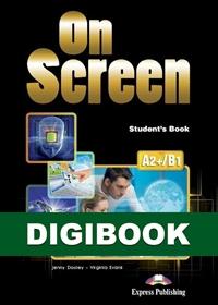 On Screen A2+/B1. Podręcznik cyfrowy DigiBook (kod)