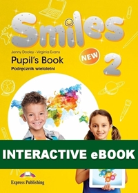 New Smiles 2. Podręcznik cyfrowy Interactive eBook (płyta)
