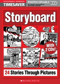Storyboard: 24 Stories Through Pictures (książka + Audio CD)