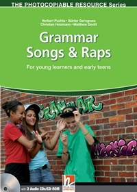 Grammar Songs & Raps (książka + Audio CD + CD-ROM)