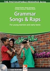 Grammar Songs & Raps (książka + Audio CD + CD-ROM)