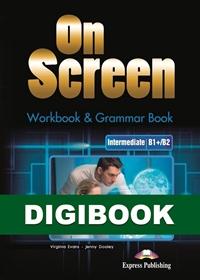On Screen Inter. (B1+/B2). Workbook & Grammar DigiBook (kod)