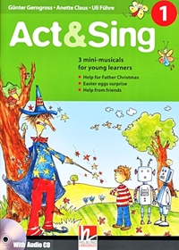 Act & Sing 1 (książka + Audio CD)