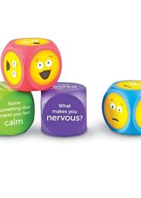 Emoji Cubes (zestaw 4 klocków)