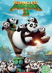 Kung Fu Panda 3. Reader + Audio CD