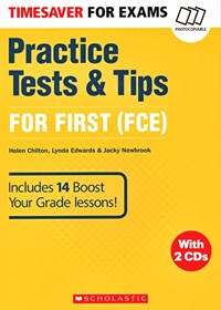 Timesaver for Exams: Practice Tests & Tips for First (FCE). Książka + CDs