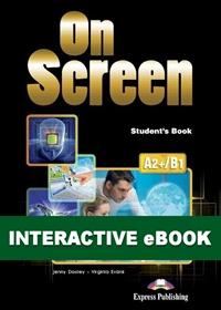 On Screen A2+/B1. Podręcznik cyfrowy Interactive eBook (płyta)