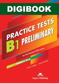B1 Preliminary  Practice Tests. Książka ucznia cyfrowa DigiBook (kod)
