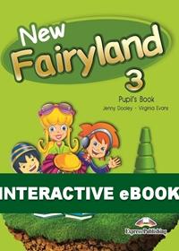 New Fairyland 3. Podręcznik cyfrowy Interactive eBook (płyta)
