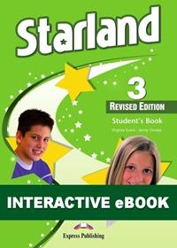 Starland 3 Revised edition. Podręcznik cyfrowy Interactive eBook (płyta)