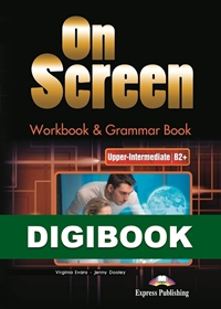 On Screen Upper-Inter. (B2+). Workbook & Grammar DigiBook (kod)