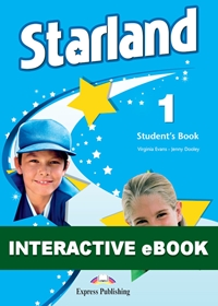 Starland 1. Podręcznik cyfrowy Interactive eBook (płyta)