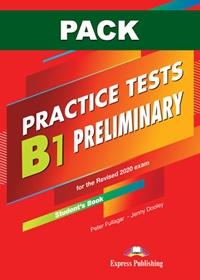 B1 Preliminary  Practice Tests. Książka ucznia papierowa + DigiBook (kod)