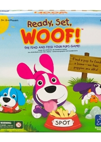 Ready, Set, Woof! Colour Matching Game