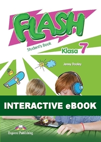 Flash Klasa 7. Podręcznik cyfrowy Interactive eBook (kod)