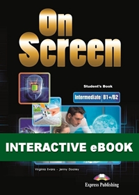 On Screen Inter. (B1+/B2). Podręcznik cyfrowy Interactive eBook (kod)