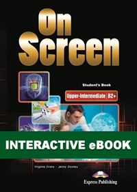On Screen Upper-Inter. (B2+). Podręcznik cyfrowy Interactive eBook (kod)