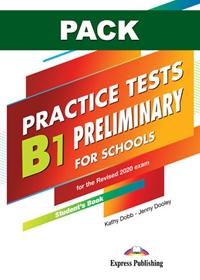 B1 Preliminary for Schools Practice Tests. Książka ucznia papierowa + DigiBook (kod)
