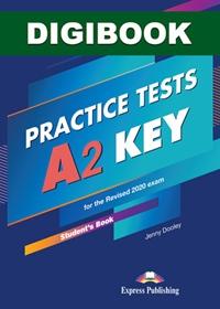 A2 Key Practice Tests. Książka ucznia cyfrowa DigiBook (kod)