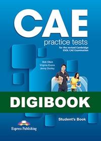 CAE Practice Tests. Książka ucznia cyfrowa DigiBook (kod)