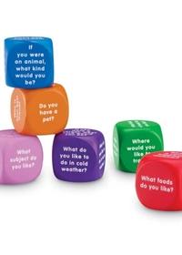 Conversation Cubes (zestaw 6 klocków)