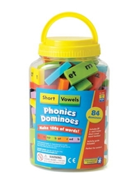 Phonics Dominoes: Short Vowels